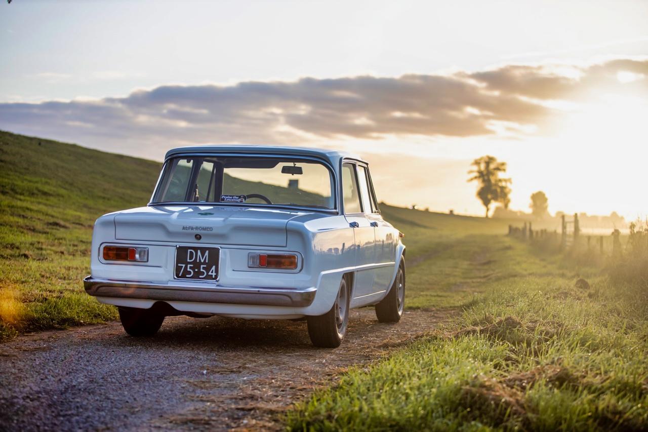 '71 Alfa Romeo Giulia 1300 Super... Enfin, Restomod 2100 Super plutôt ! 55
