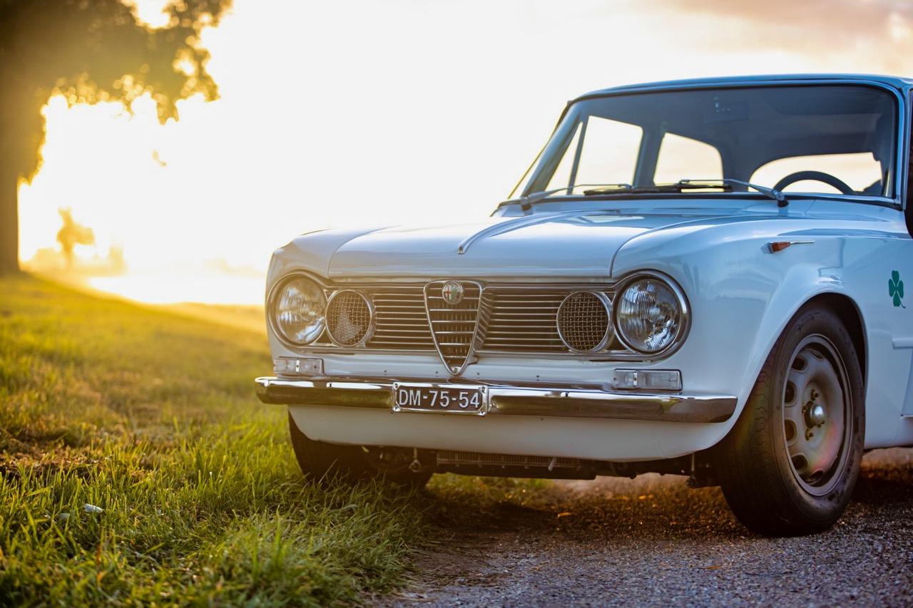 '71 Alfa Romeo Giulia 1300 Super... Enfin, Restomod 2100 Super plutôt ! 45