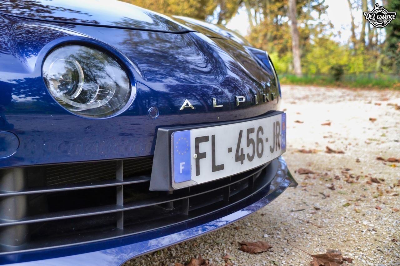 Alpine A110 Légende... Berlinette moderne ! 26