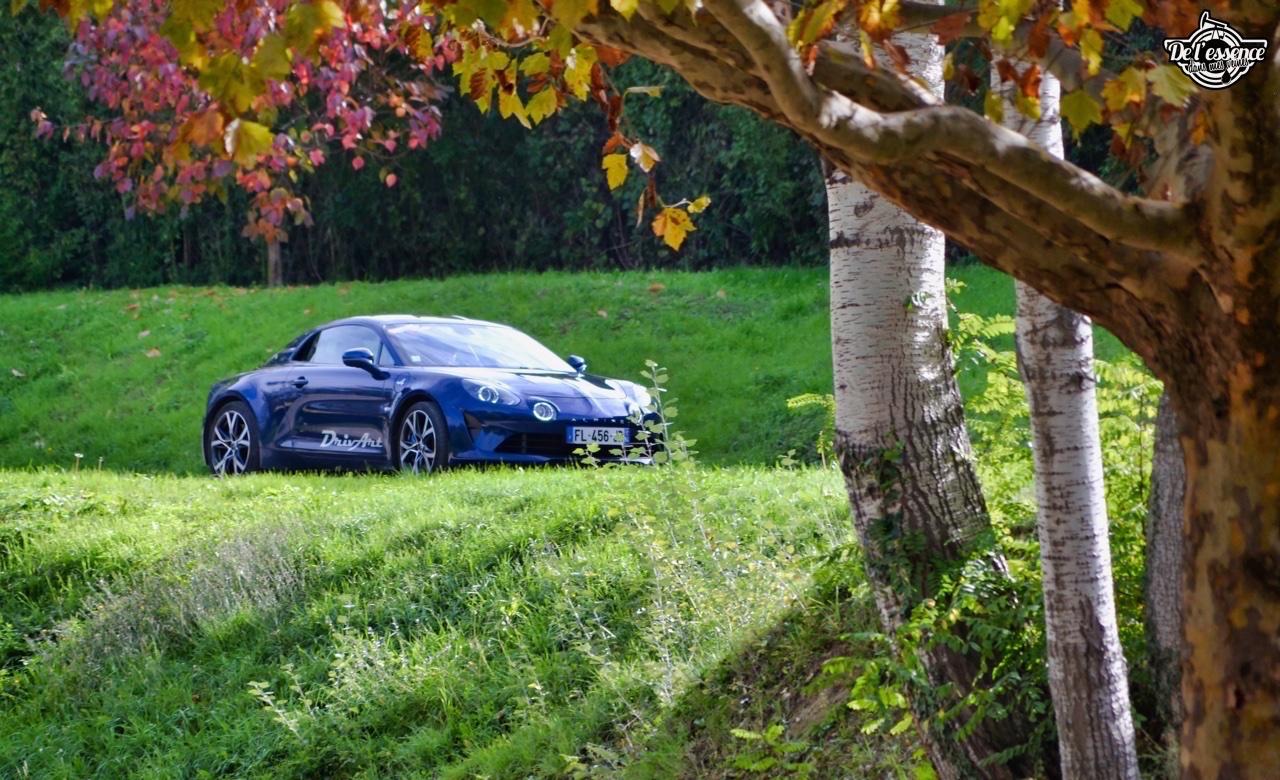 Alpine A110 Légende... Berlinette moderne ! 45