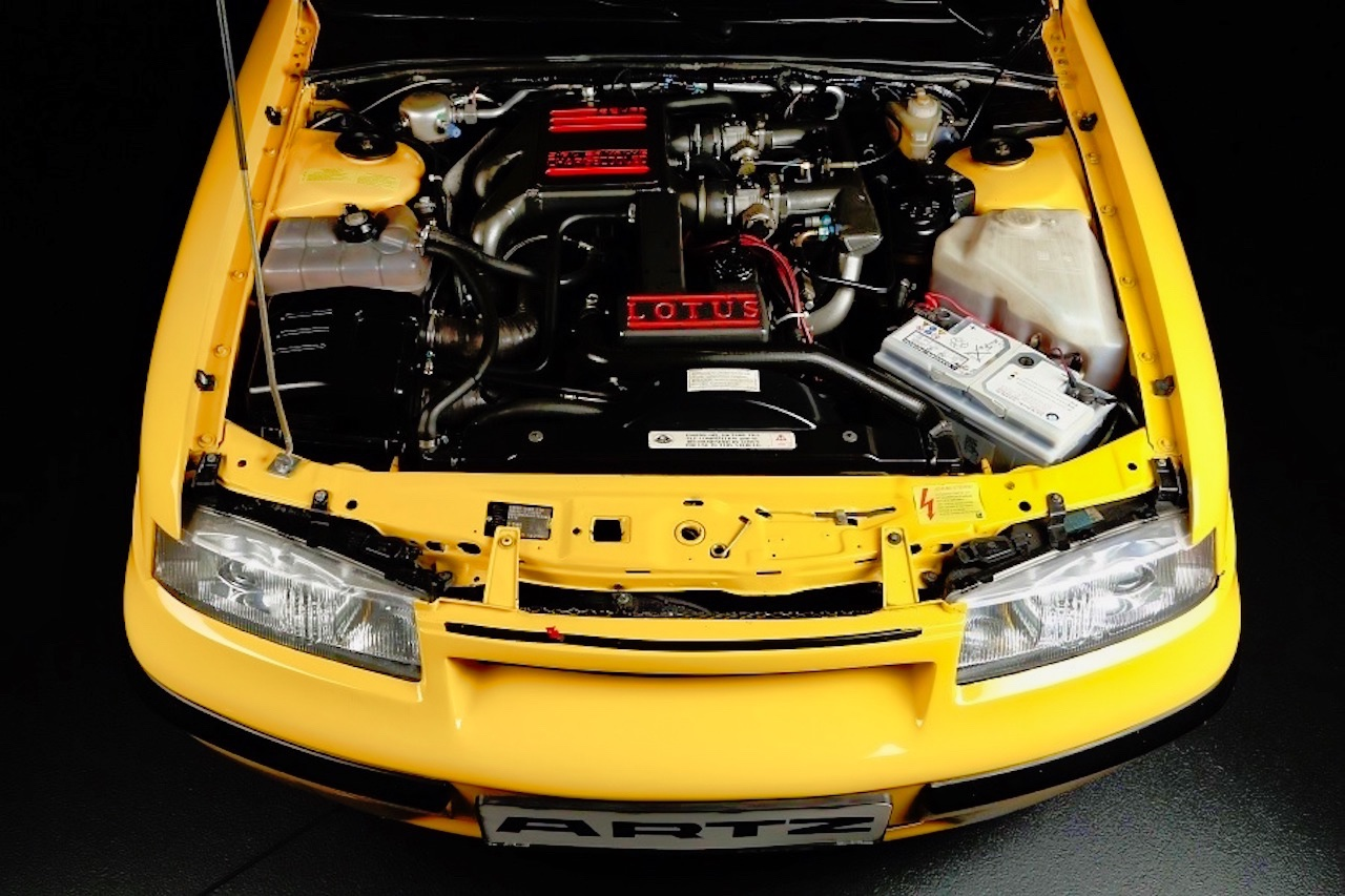 Artz Opel Calibra Lotus... Oui, Calibra ! 8