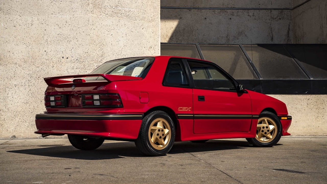 '89 Shelby CSX - Collector des 80's ! 15