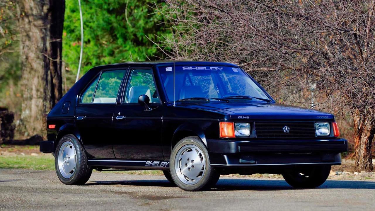 '86 Shelby GLHS... Horizon dévergondée ! 2