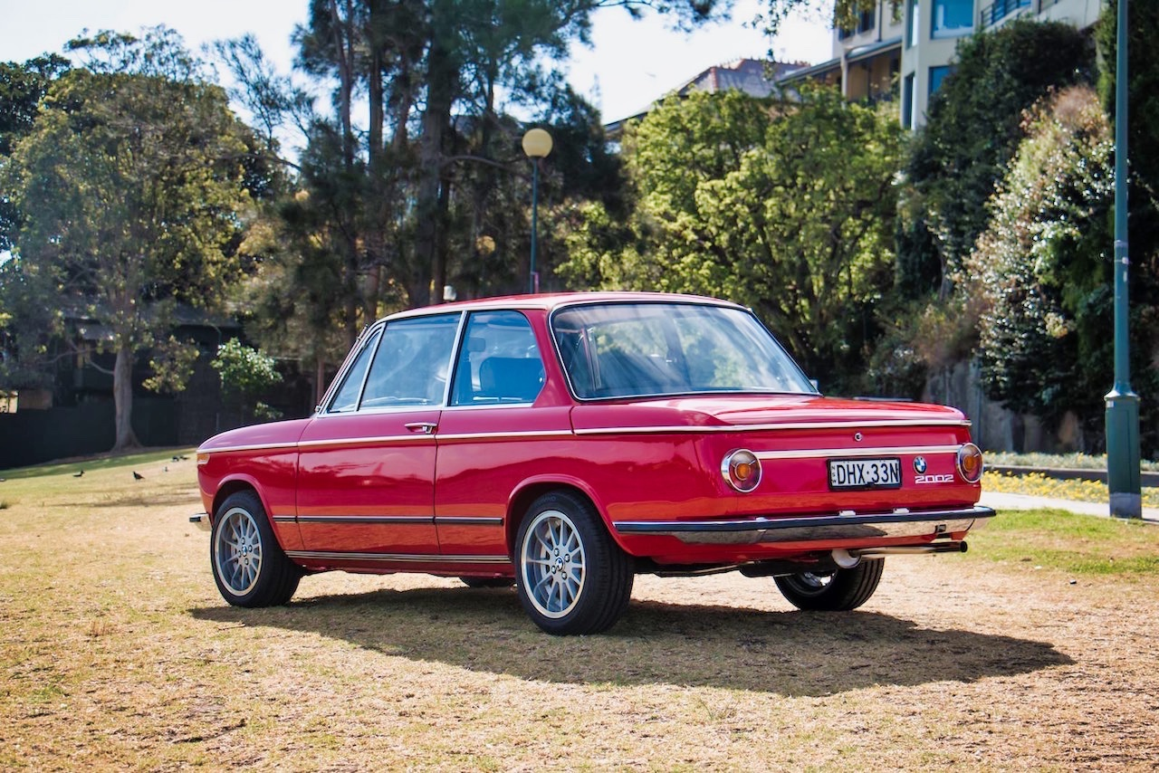 BMW 2002 par Fuel Bespoke Design - Made in Australia ! 2