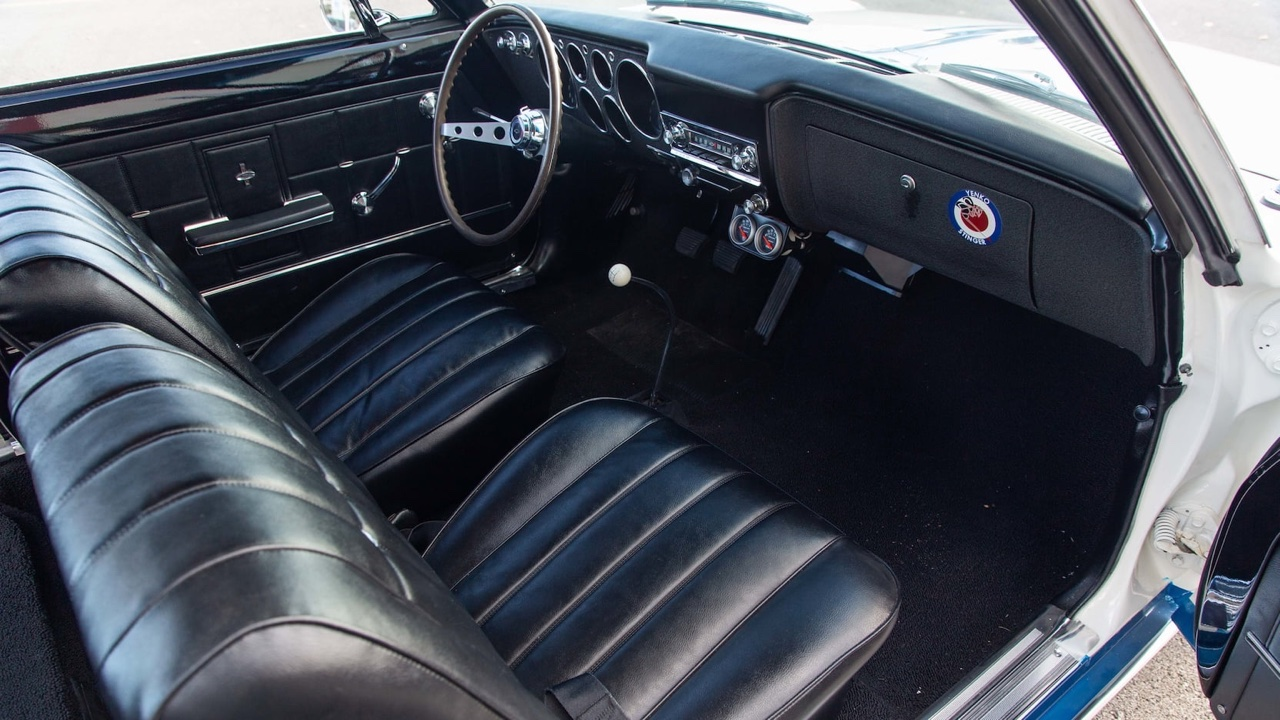 Chevy Yenko Stinger 1966 - Corvair délurée ! 25