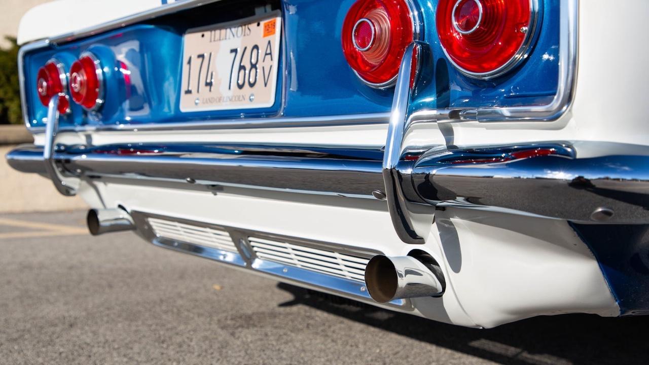 Chevy Yenko Stinger 1966 - Corvair délurée ! 32