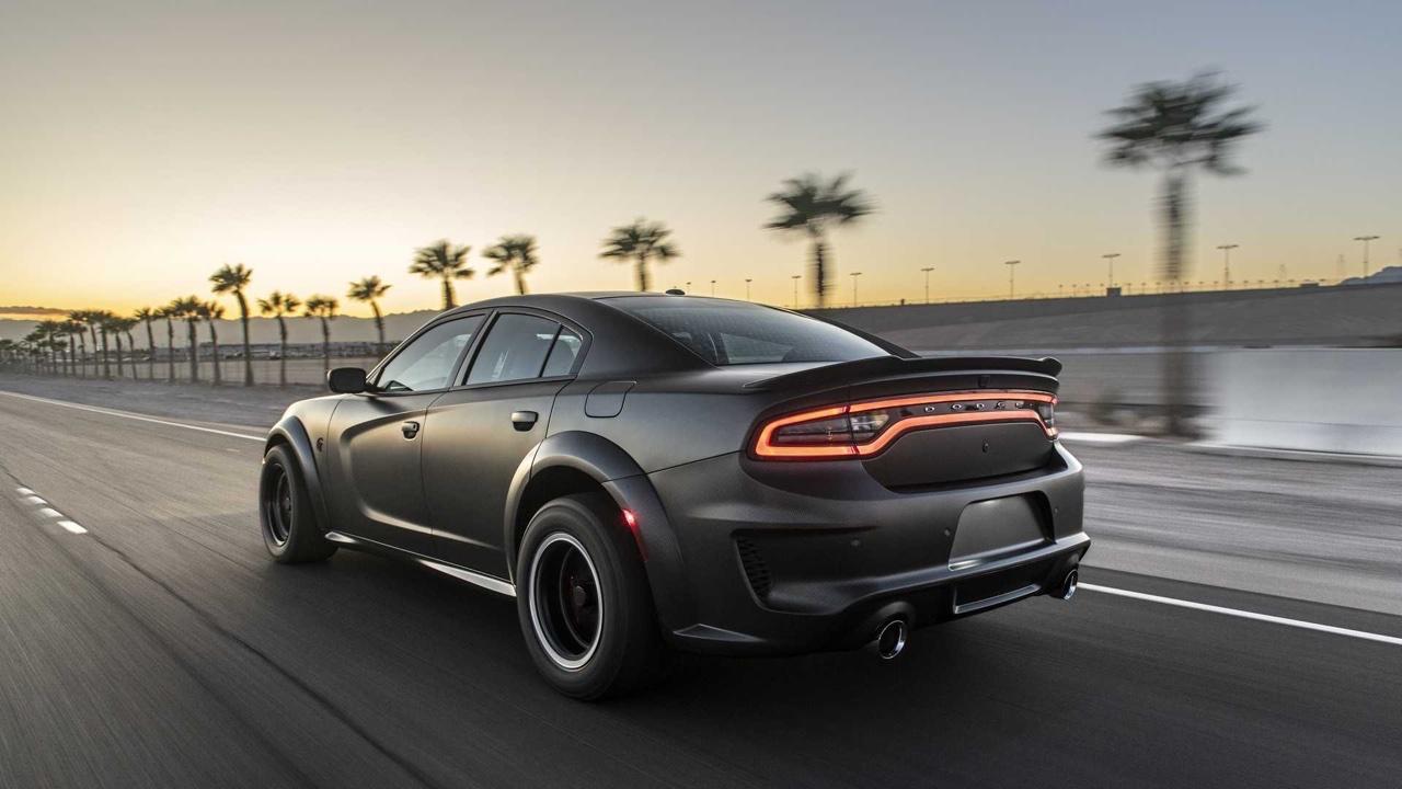 #SEMA 2019 : SpeedKore Demon... 2 turbos et 1500 ch dans une Charger ! 19