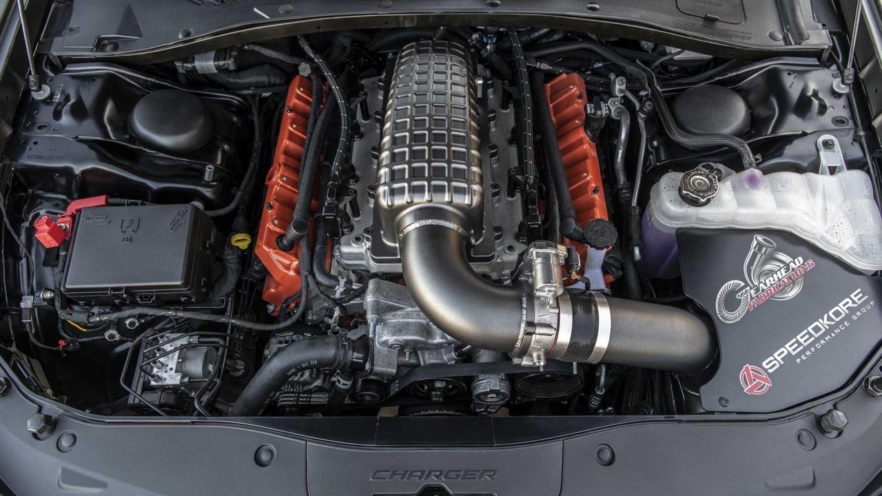 #SEMA 2019 : SpeedKore Demon... 2 turbos et 1500 ch dans une Charger ! 9