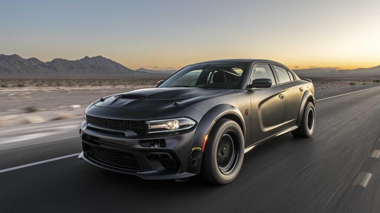 #SEMA 2019 : SpeedKore Demon... 2 turbos et 1500 ch dans une Charger ! 18