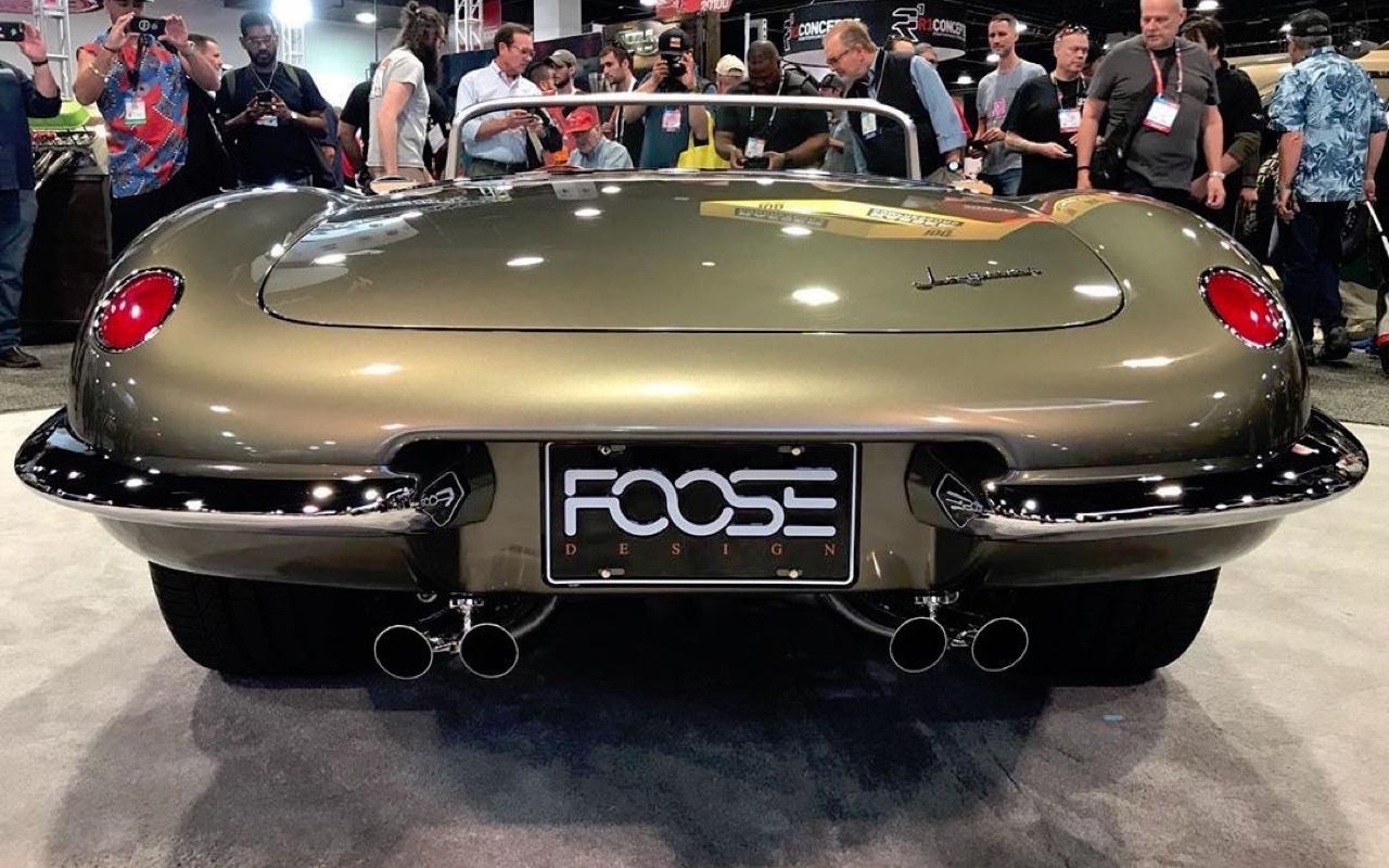#SEMA 2019 : Jaguar Type E par Chip Foose 7