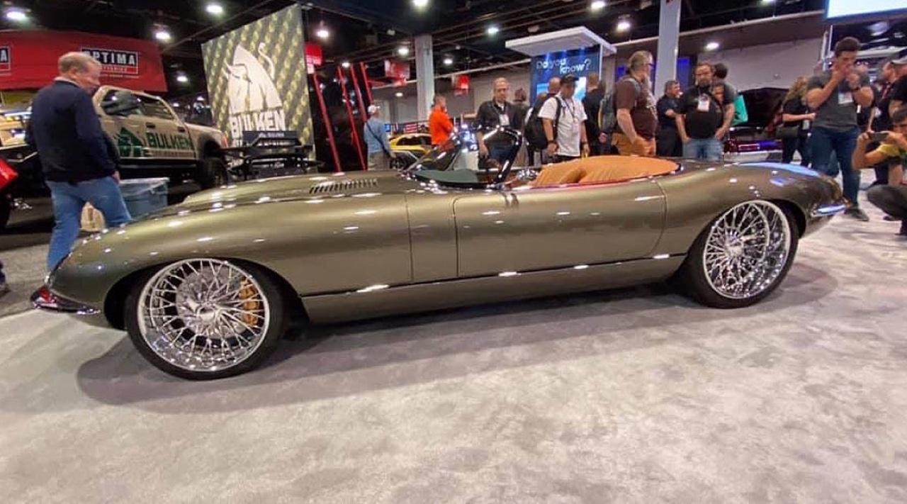 #SEMA 2019 : Jaguar Type E par Chip Foose 3