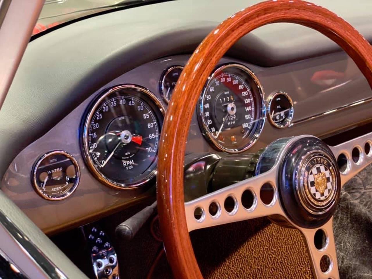 #SEMA 2019 : Jaguar Type E par Chip Foose 4