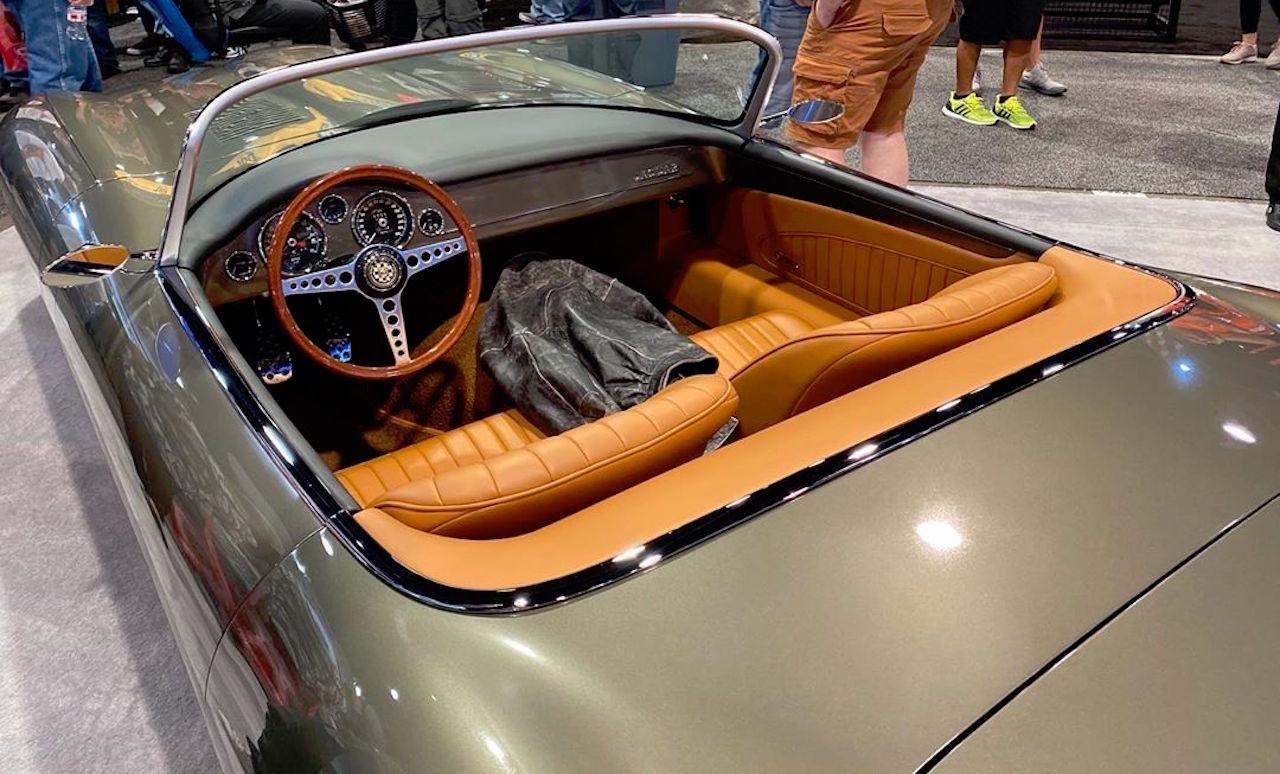 #SEMA 2019 : Jaguar Type E par Chip Foose 5