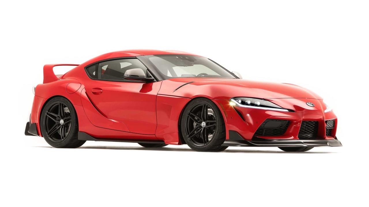 #SEMA 2019 : Des Toyota Supra de partout ! 11