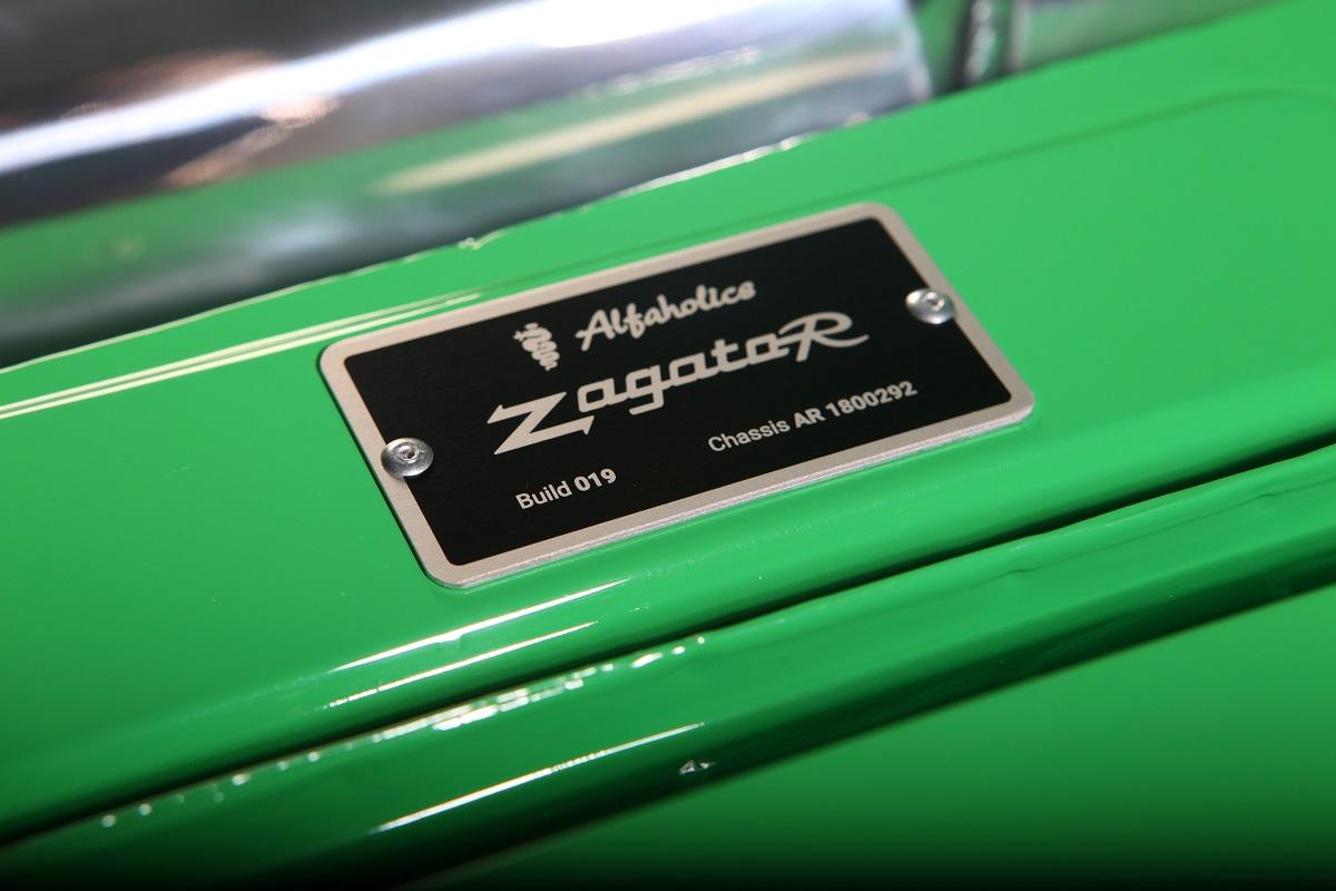 Alfaholics Zagato-R - R comme Restomod ! 38