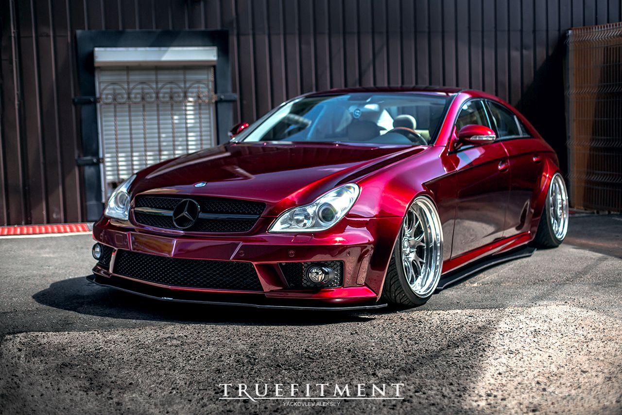 Mercedes CLS Hellaflush - L'étoile qui ne manque pas d'air... 6