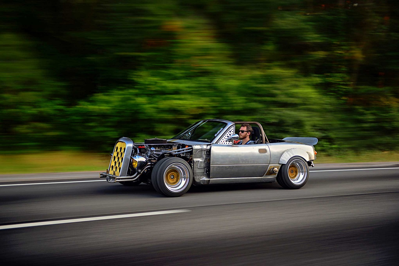 Mazda Miata Hot Rod V8 - What the Hell ?! 50