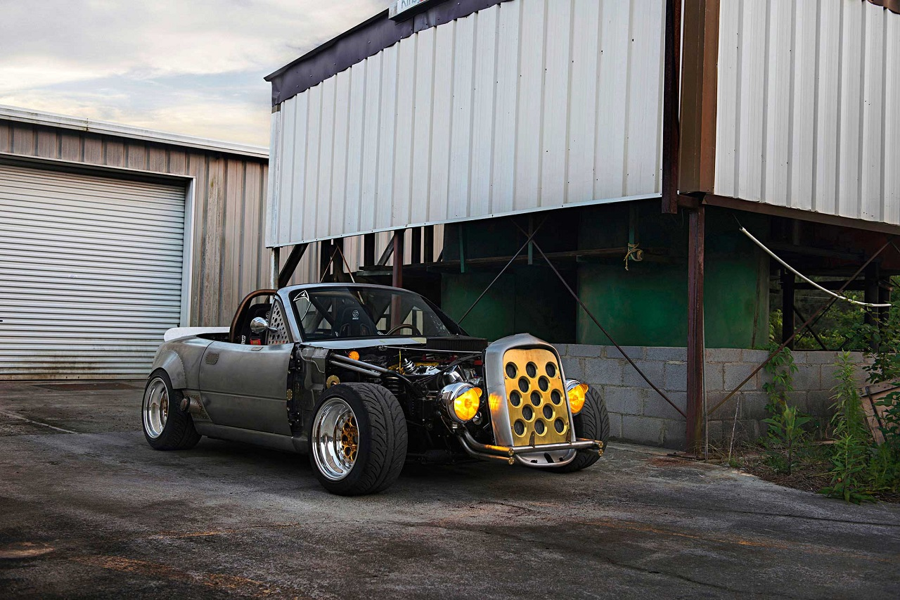 Mazda Miata Hot Rod V8 - What the Hell ?! 5