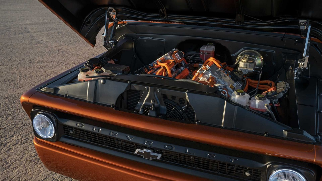 #SEMA 2019 - Chevy E-10 Concept - Les temps changent... 15