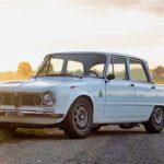 '71 Alfa Romeo Giulia 1300 Super... Enfin, Restomod 2100 Super plutôt !
