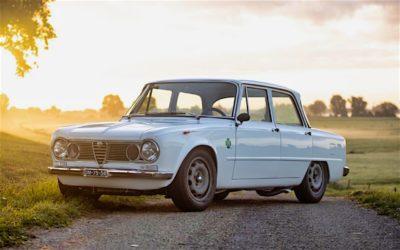 '71 Alfa Romeo Giulia 1300 Super… Enfin, Restomod 2100 Super plutôt !