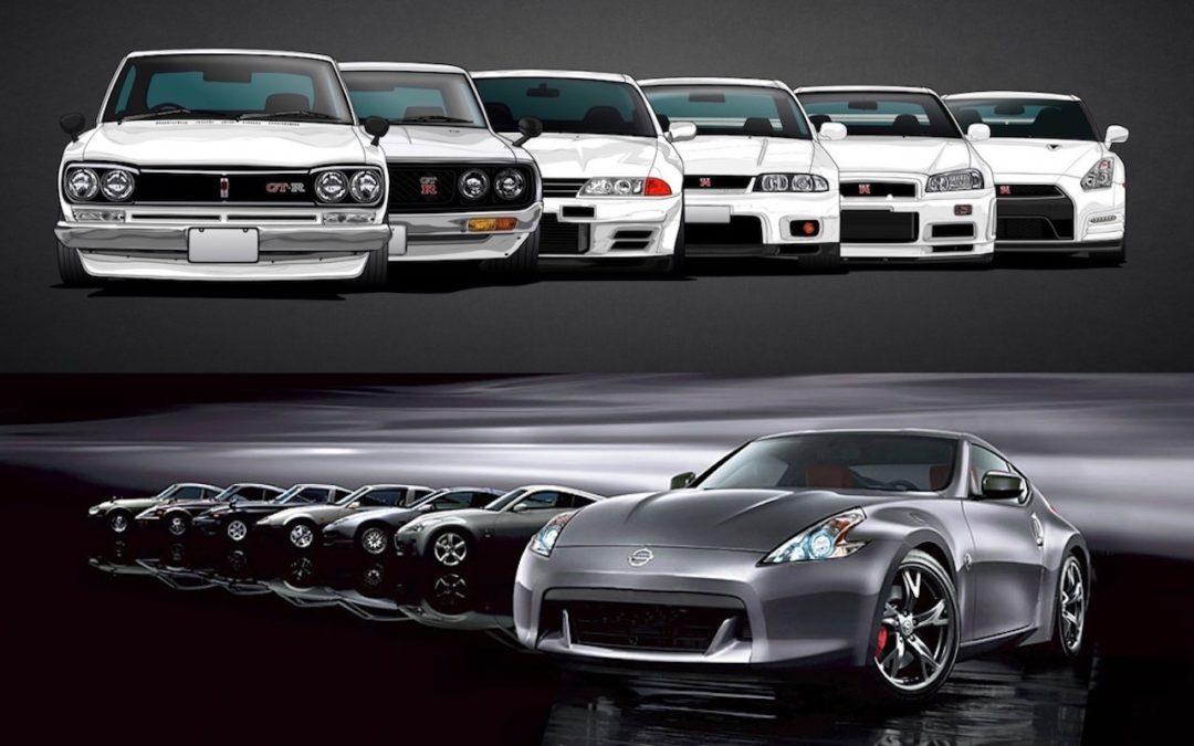 GTR & Z… Nissan souffle les 50 bougies !