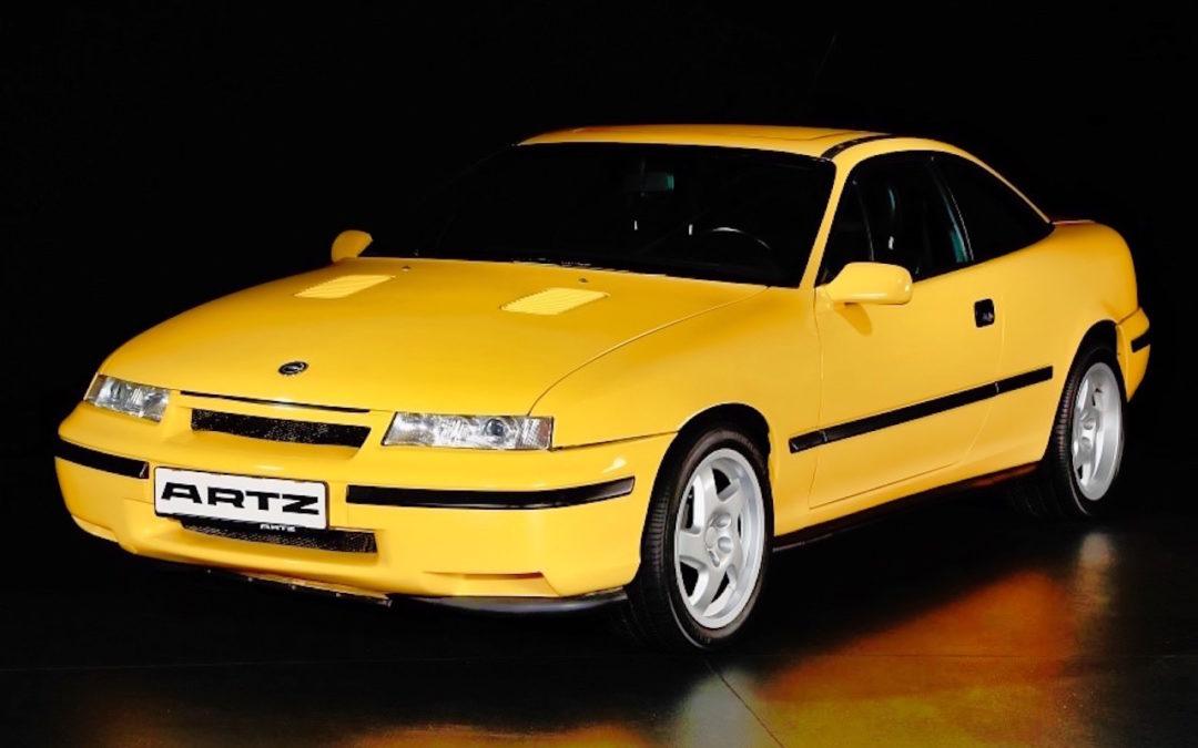 Artz Opel Calibra Lotus… Oui, Calibra !