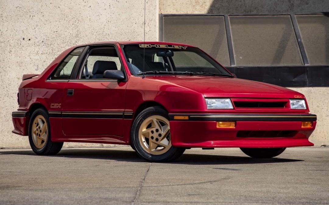 '89 Shelby CSX – Collector des 80's !