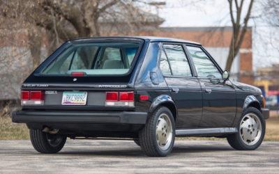 '86 Shelby GLHS… Horizon dévergondée !