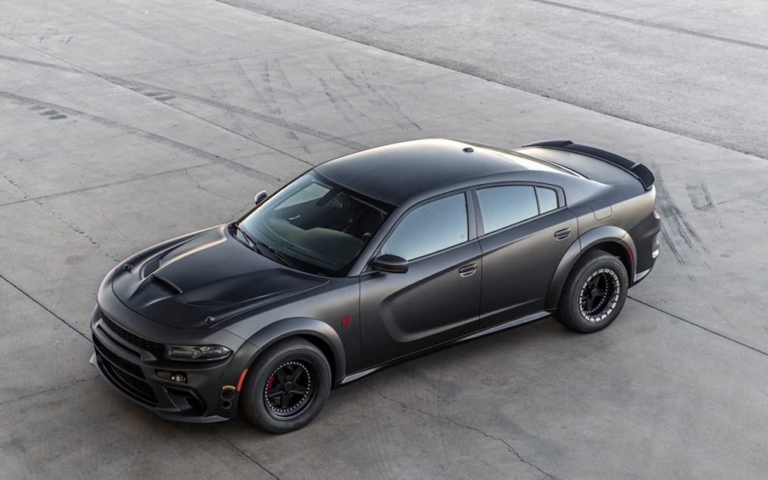#SEMA 2019 : SpeedKore Demon… 2 turbos et 1500 ch dans une Charger !