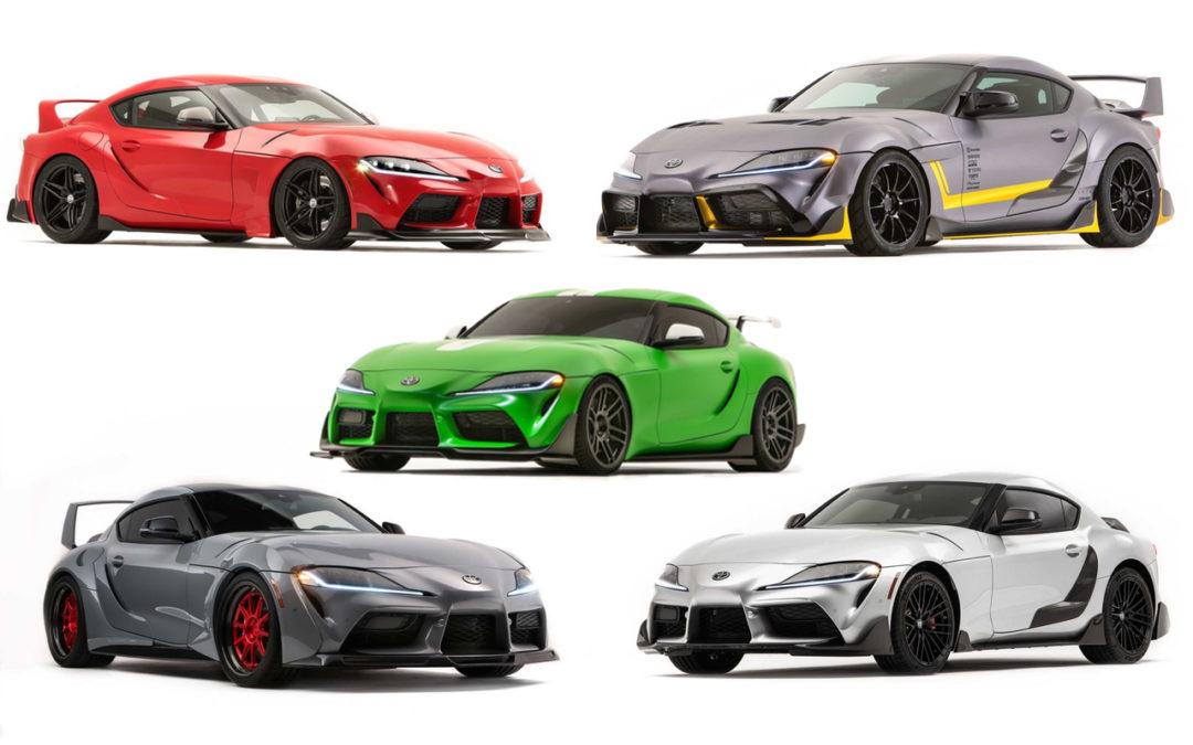 #SEMA 2019 : Des Toyota Supra de partout !