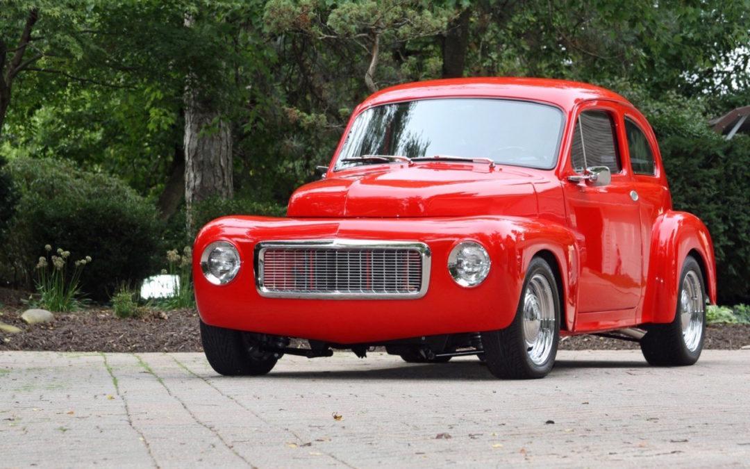 '63 Volvo PV544… De l'autre coté de l'Atlantique