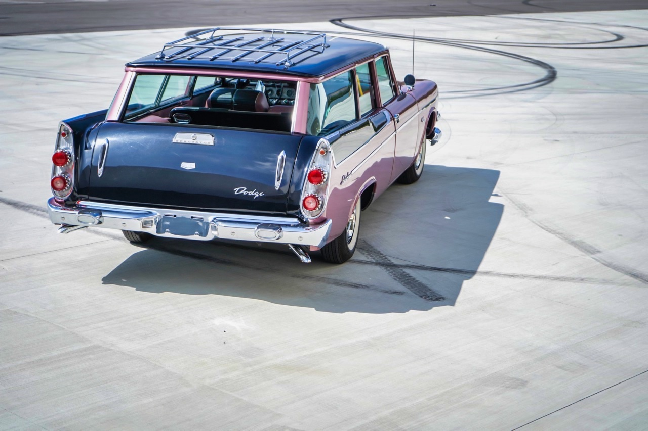 '58 Dodge Suburban Spectator... Du custom d'origine. 14