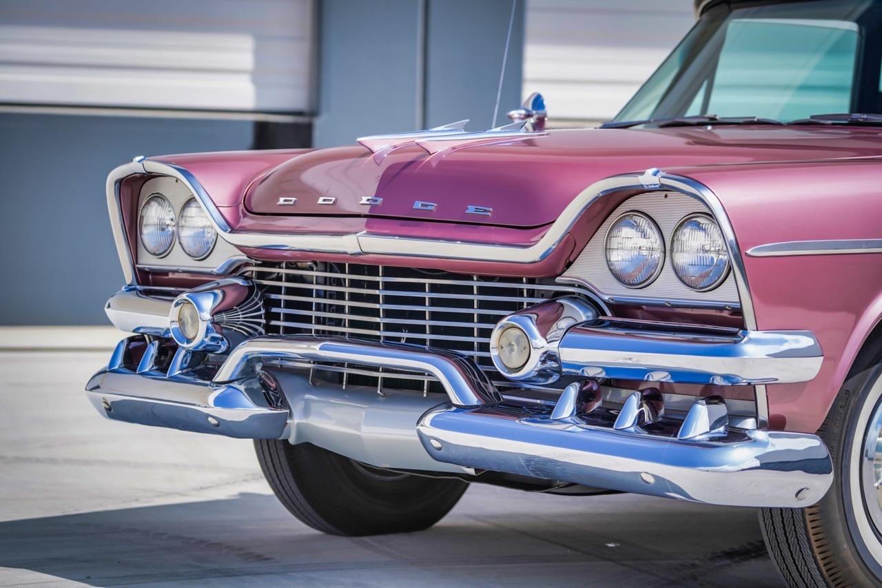 '58 Dodge Suburban Spectator... Du custom d'origine. 8