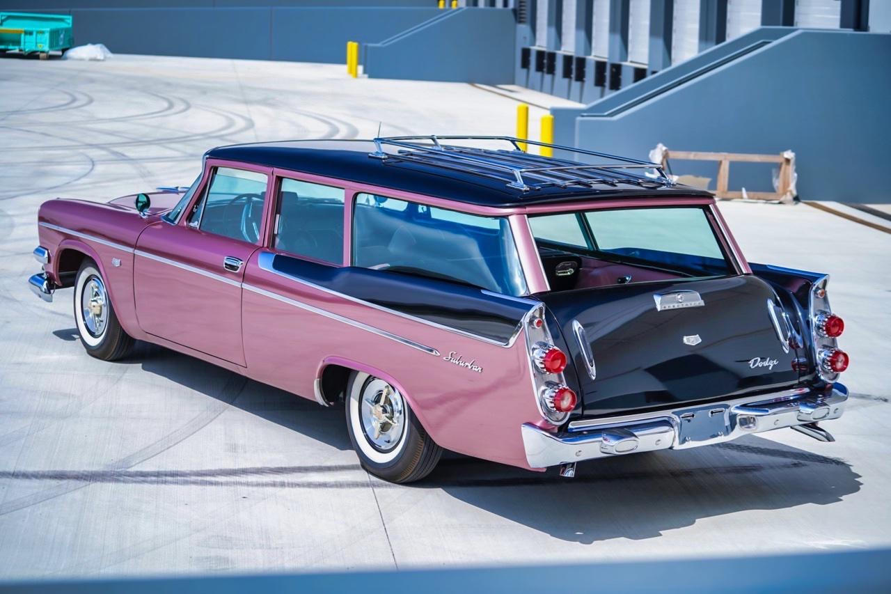 '58 Dodge Suburban Spectator... Du custom d'origine. 6