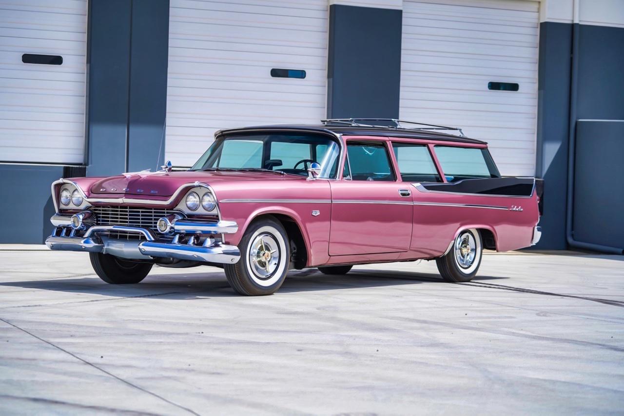'58 Dodge Suburban Spectator... Du custom d'origine. 5