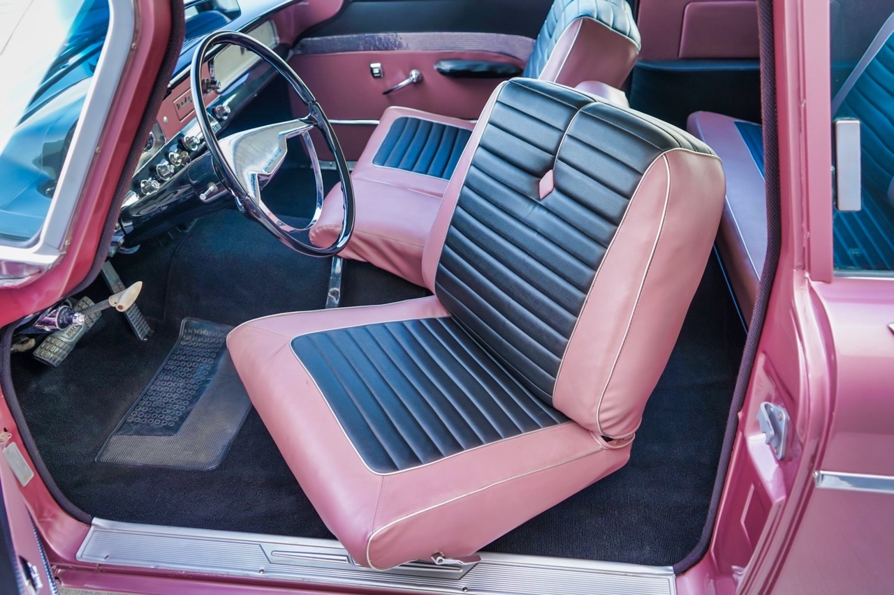 '58 Dodge Suburban Spectator... Du custom d'origine. 11