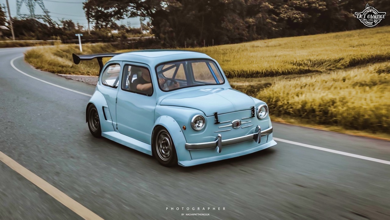 Fiat 600 Widebody by PonRetro AutoPart - Infernal ! 1