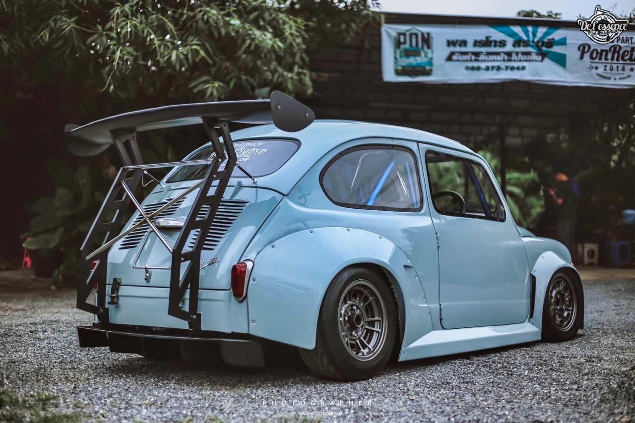 Fiat 600 Widebody by PonRetro AutoPart - Infernal ! 3