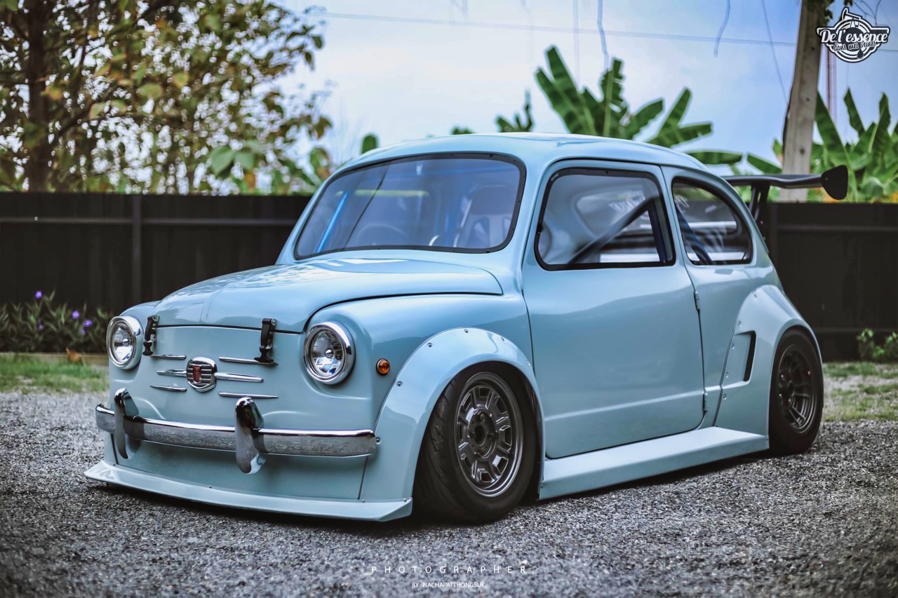 Fiat 600 Widebody by PonRetro AutoPart - Infernal ! 32