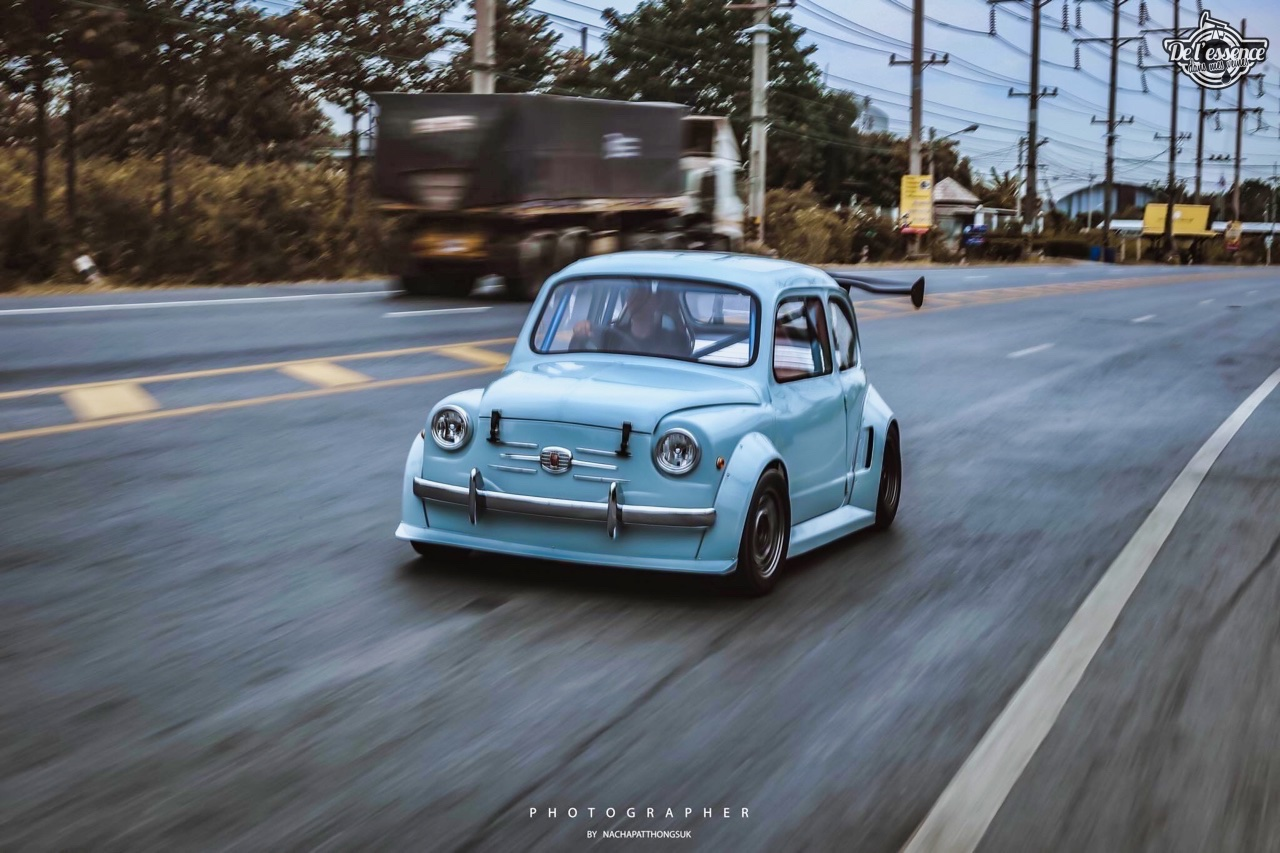 Fiat 600 Widebody by PonRetro AutoPart - Infernal ! 53