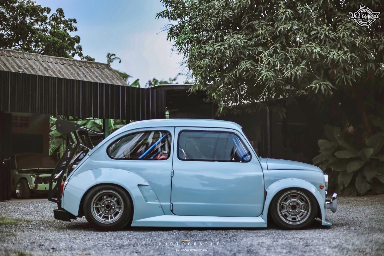 Fiat 600 Widebody by PonRetro AutoPart - Infernal ! 45