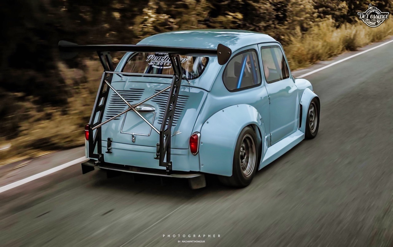 Fiat 600 Widebody by PonRetro AutoPart - Infernal ! 46