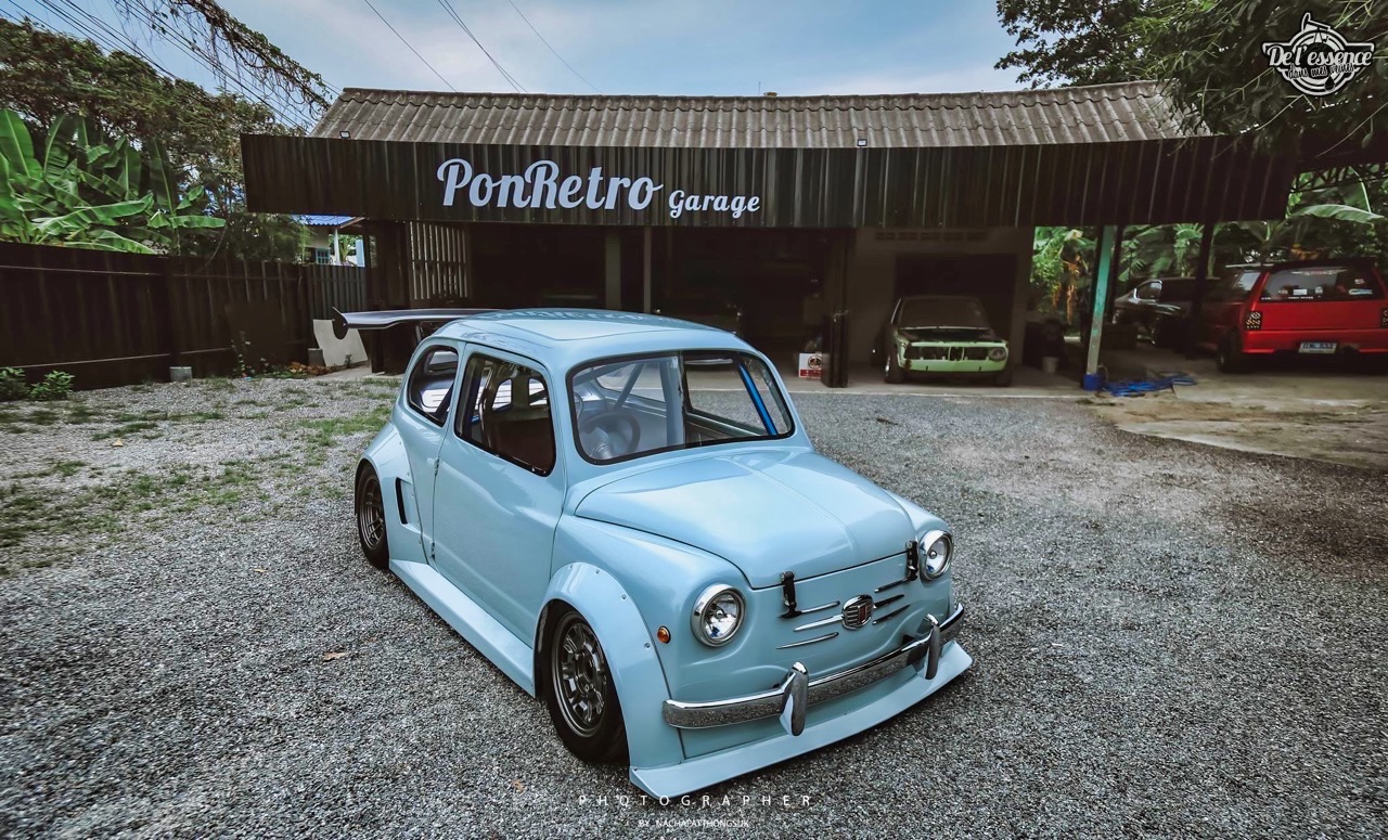Fiat 600 Widebody by PonRetro AutoPart - Infernal ! 47
