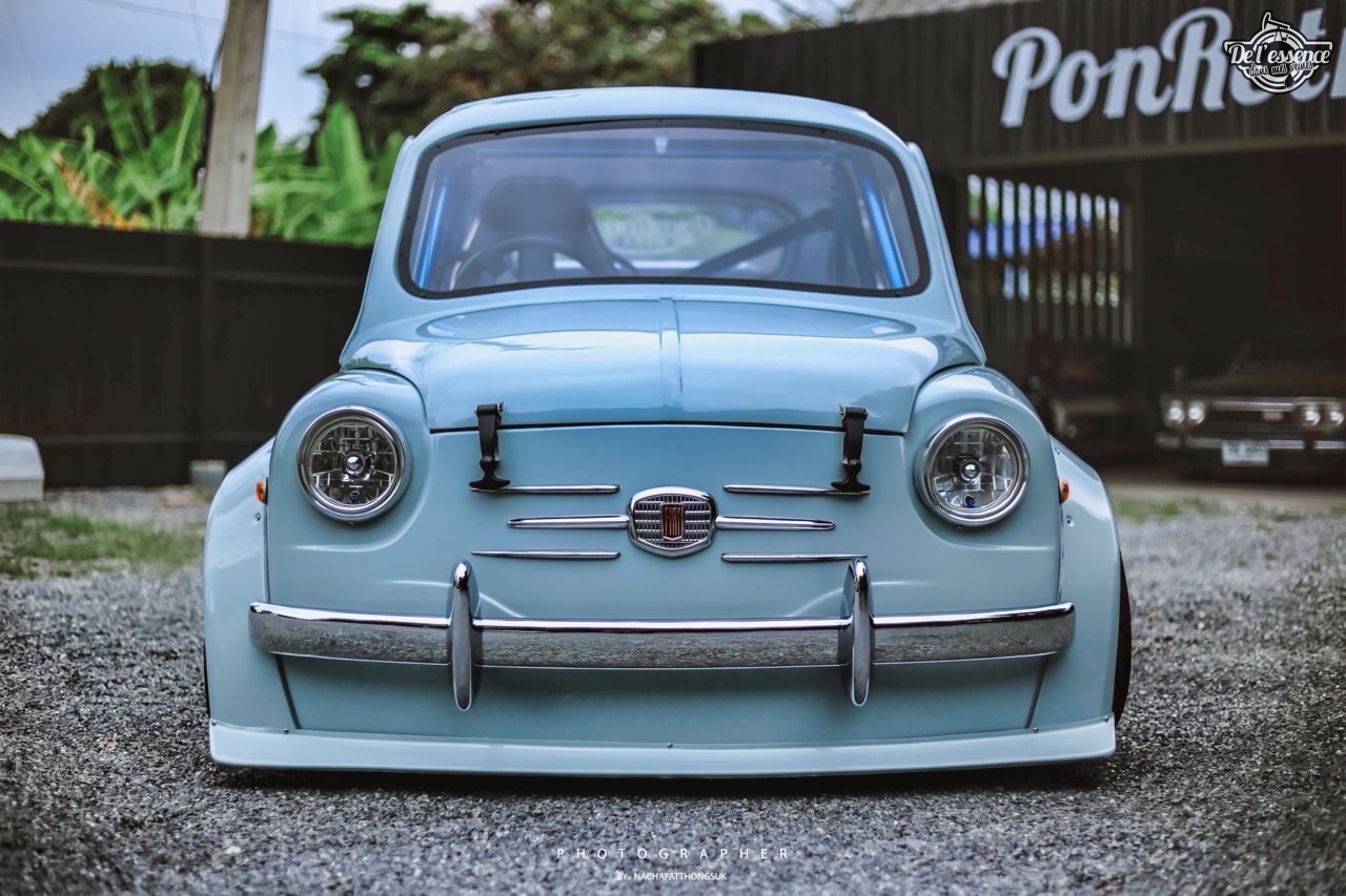 Fiat 600 Widebody by PonRetro AutoPart - Infernal ! 21
