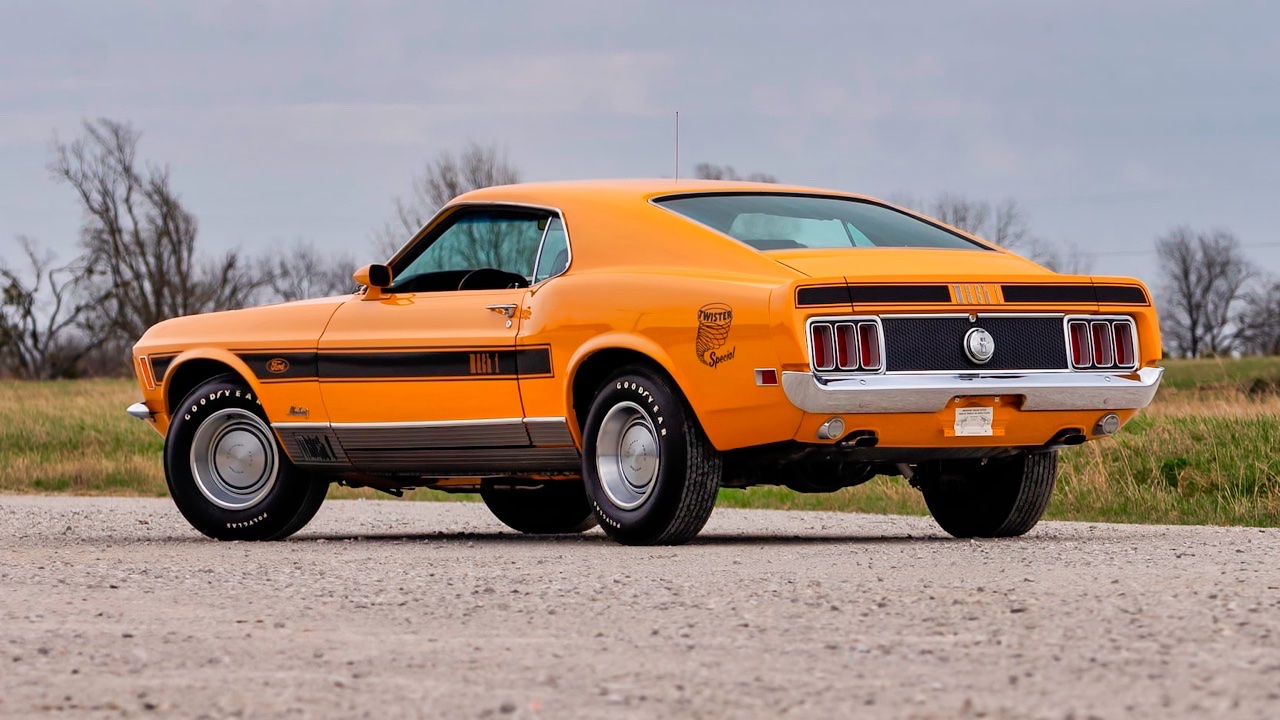 '70 Ford Mustang Mach 1 Twister Special... Pour le pays des tornades ! 1