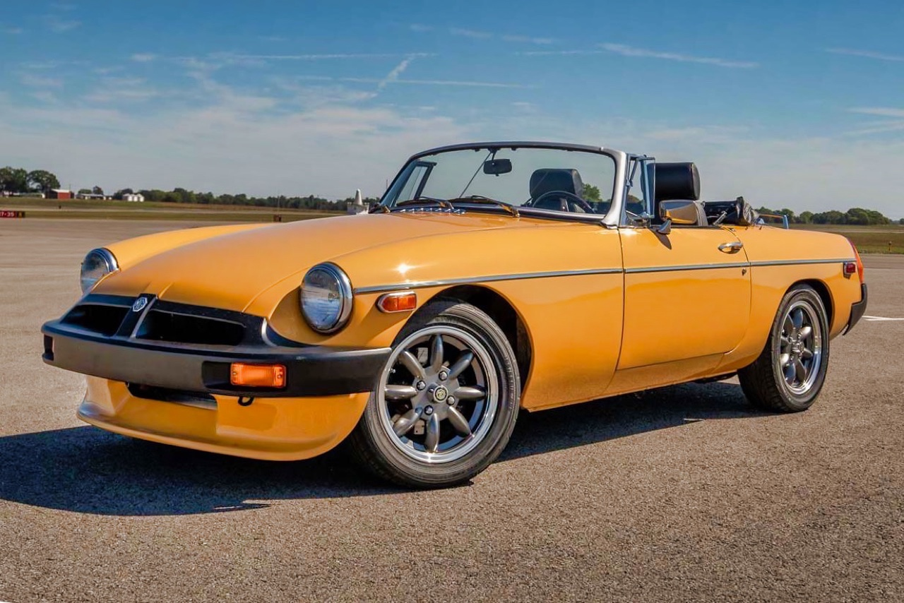 '77 MGB V8... En mode Muscle car ! 11