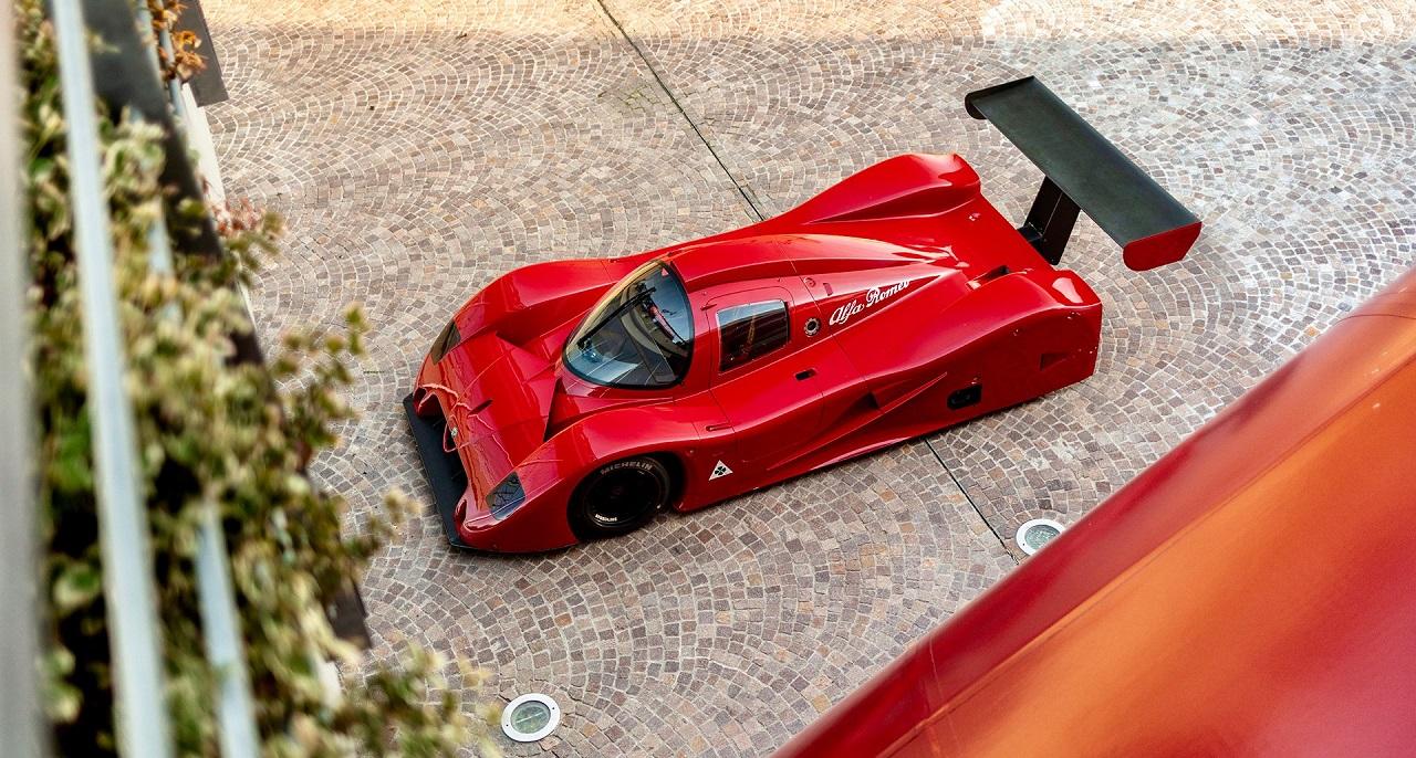Alfa Romeo SE048SP Groupe C Proto - Al... Quoi ? 16