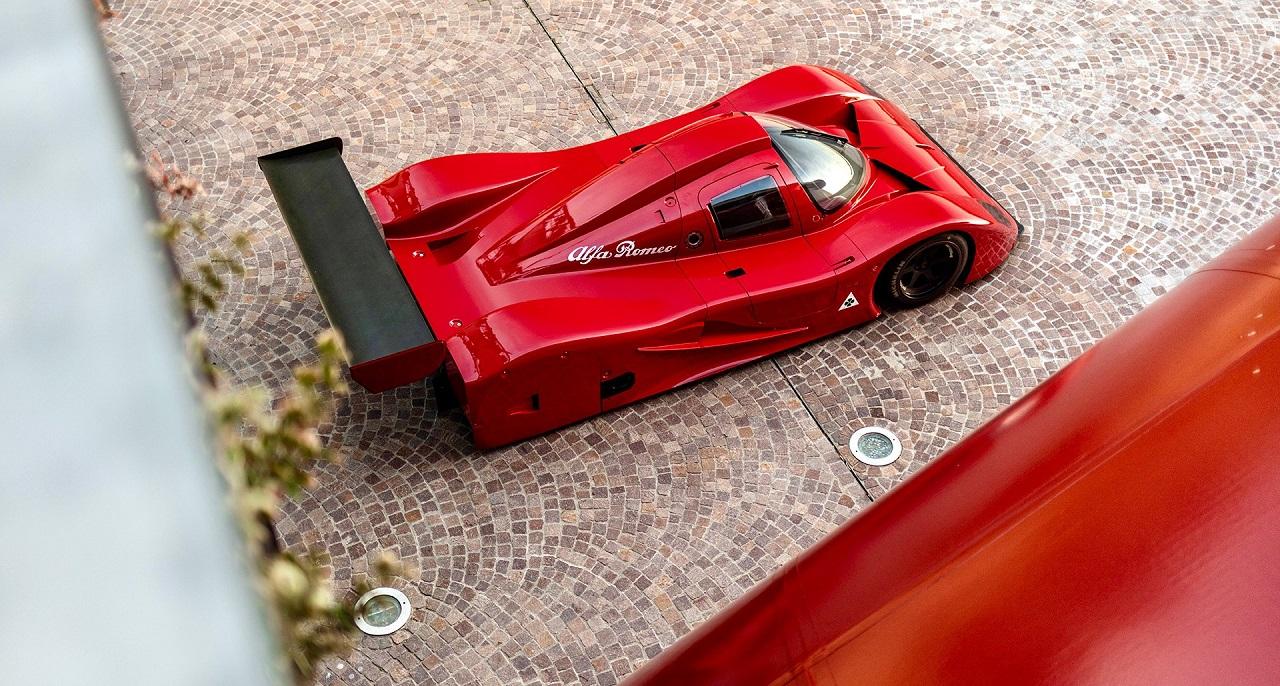 Alfa Romeo SE048SP Groupe C Proto - Al... Quoi ? 18
