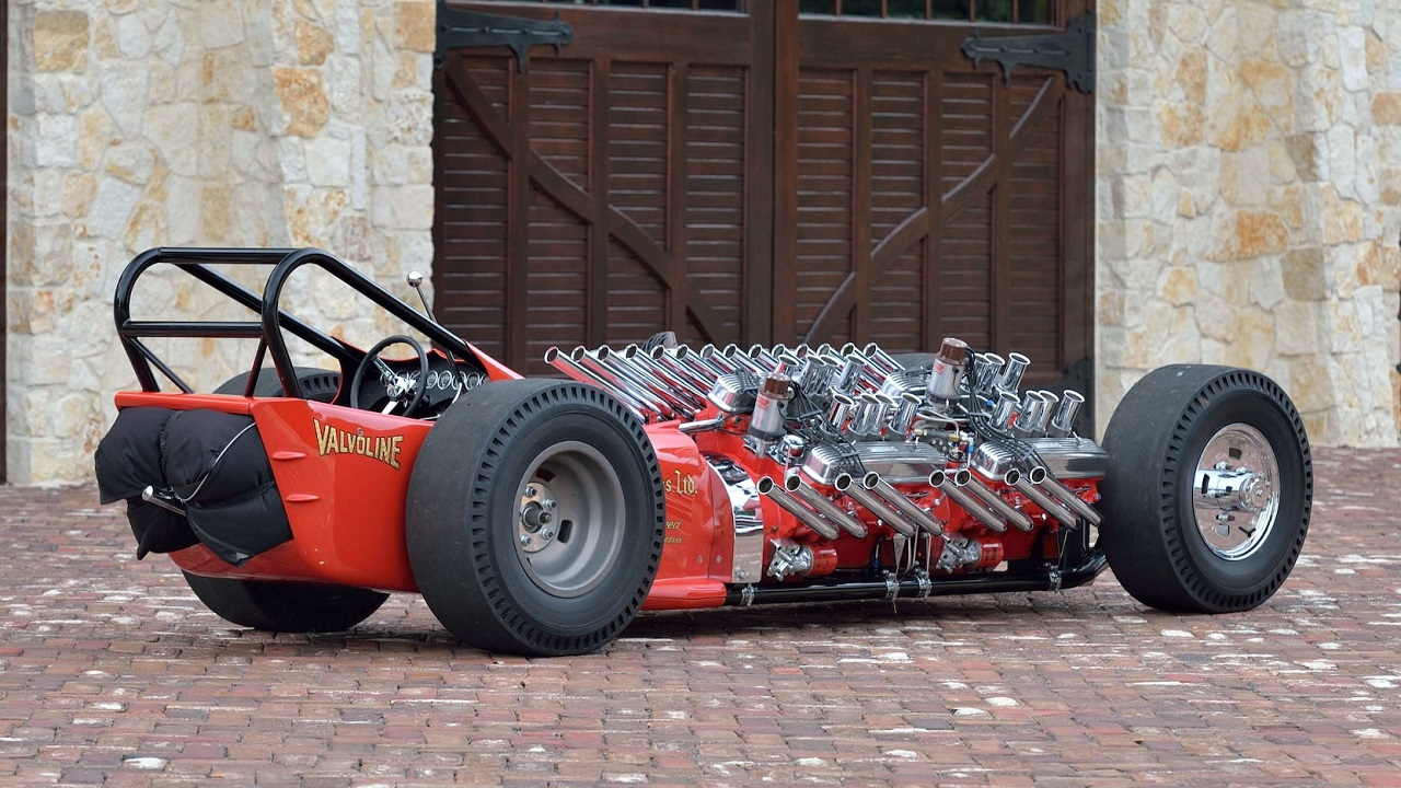 "2007 Showboat Slingshot Dragster - Comme le ""H"" de Hawaii... 22"